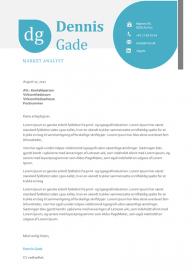 Jobansøgning skabelon - Dennis Gade