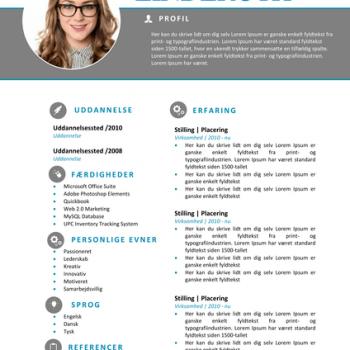 CV Skabelon Word - Nanna Linderoth