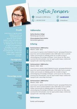 CV Skabelon 2017