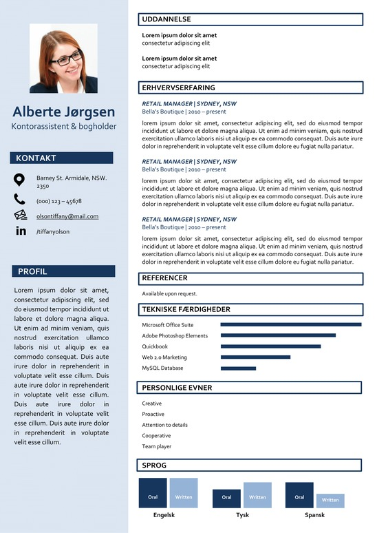 Alberte Jørgensen Skabelon Jobih